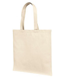 LB85113 Liberty Bags 12 oz., Cotton Canvas Tote Bag With Self Fabric Handles