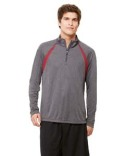 M3026 All Sport Unisex Quarter-Zip Lightweight Pullover with Insets