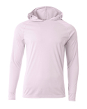 N3409 A4 Men's Cooling Performance Long-Sleeve Hooded T-shirt