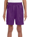 NB5301 A4 Youth Six Inch Inseam Mesh Short