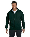 P180 Hanes Adult EcoSmart® 50/50 Full-Zip Hooded Sweatshirt