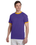 T1396 Champion Adult 5.2 oz. Ringer T-Shirt