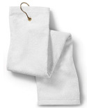 T68TH Anvil Deluxe Tri-Fold Hemmed Hand Towel with Center Grommet and Hook