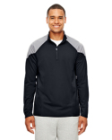 TT27 Team 365 Men's Command Colorblock Snag-Protection Quarter-Zip