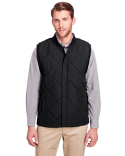 UC709 UltraClub Men's Dawson Quilted Hacking Vest