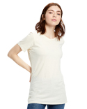US100GD US Blanks Ladies' 4.5 oz. Short-Sleeve Garment-Dyed Jersey Crew