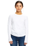 US190 US Blanks Ladies' 4.3 oz. Long-Sleeve Crewneck