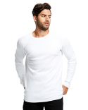 US2900 US Blanks Men's 5.8 oz. Long-Sleeve Thermal Crewneck