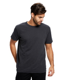 US3200 US Blanks Men's Short-Sleeve Slub Crewneck T-Shirt Garment-Dyed