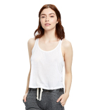 US510 US Blanks Ladies' Sheer Cropped Racer Tank