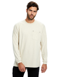 US5544 US Blanks Men's Flame Resistant Long Sleeve Pocket T-Shirt