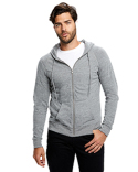 US655 US Blanks Unisex 4.9 oz. Long-Sleeve Zip Hoodie