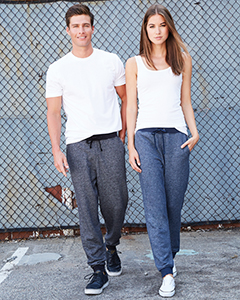 9800 Next Level Men's Denim Fleece Jogger